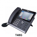Yealink SIP-T48G Ultra-elegant Gigabit IP Phone (Bluetooth, HD Voice, Paperless, Touchschreen)